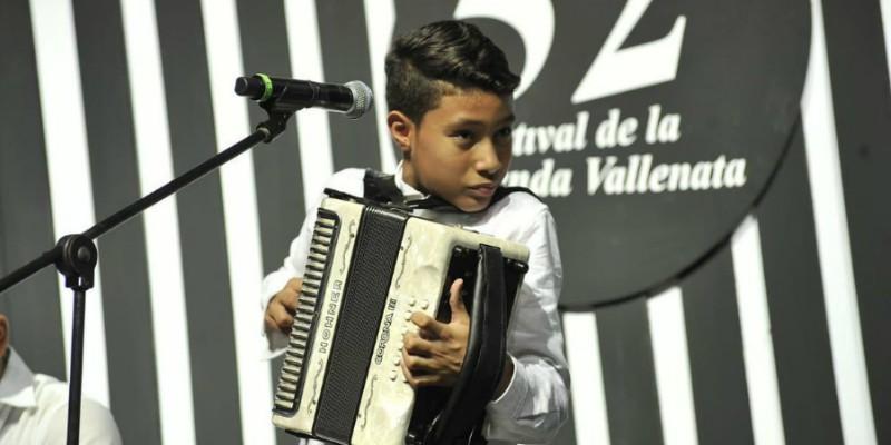 Rey Vallenato Juvenil Sergio Moreno Fragozo. Ganadores del Festival Vallenato