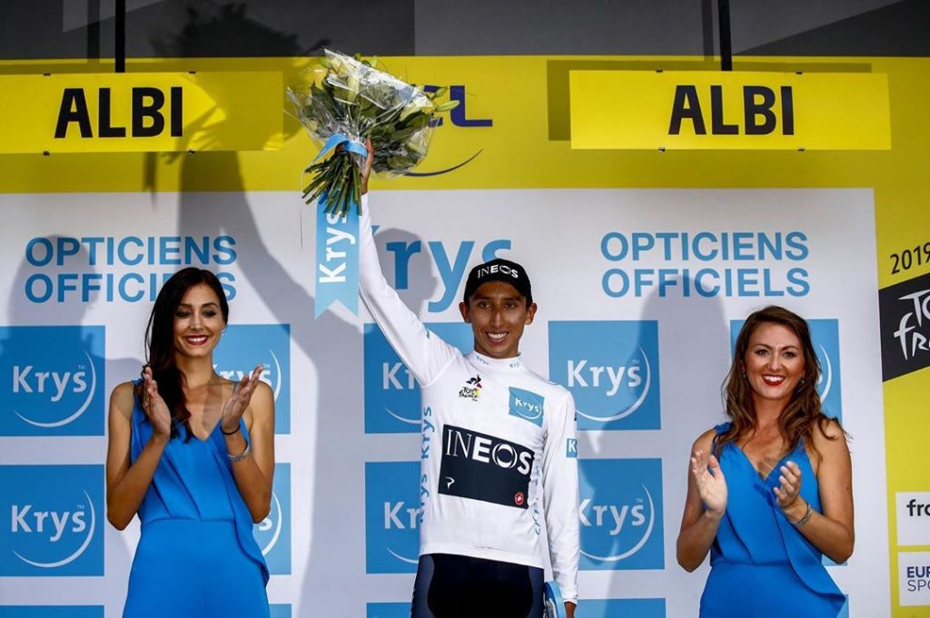 Egan Bernal ganador del Tour de France