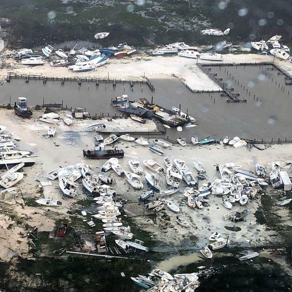 Huracán Dorian por las Bahamas