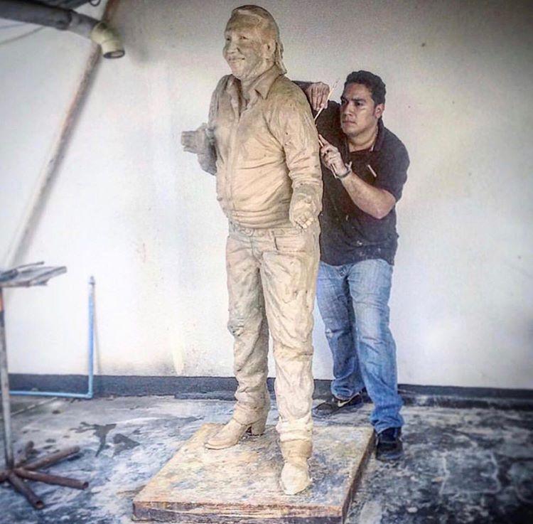Estatua de Diomedes Díaz