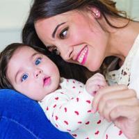 Martina Gusmán presenta a su hija de cuatro meses