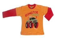 26048 remera monster truck (naranja)