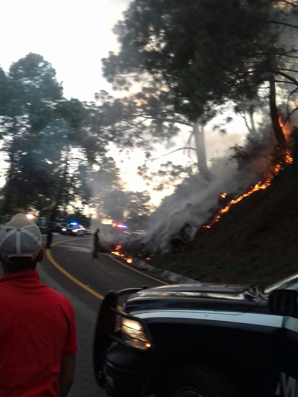 incendio-carretera