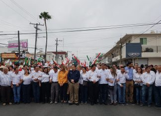 Realizan Desfile Obrero en Reynosa