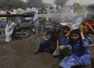 Deja ola de calor 65 muertos en Pakistán