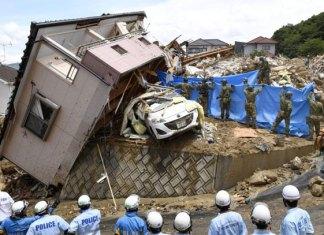 Lluvias torrenciales deja 112 muertos en Japón