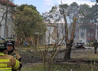 Explota coche bomba en Bogotá; reportan 5 muertos