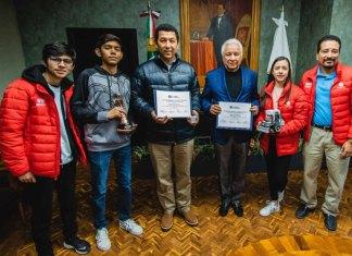 Obtienen alumnos del ITESM 3er. Lugar en Torneo celebrado en Shanghái, China