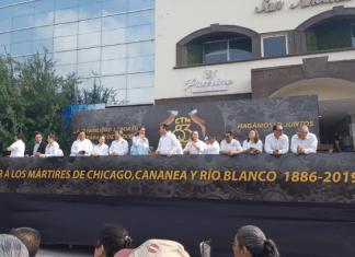 Marchan 750,000 mil trabajadores derechohabiente en Reynosa