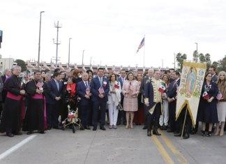 Claro mensaje de hermandad y unidad entre México y Estados Unidos