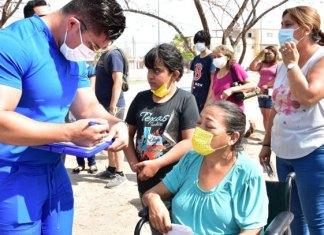 DIF Reynosa continúa con las visitas a domicilio llevando apoyos