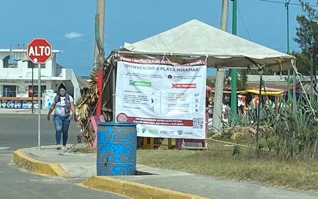 Piden comerciantes abrir playa Miramar