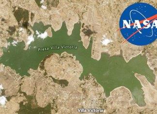 Así se ven las fotos de la NASA que alertan sobre la sequía en México