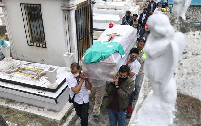 Cifra real de muertos por Coronavirus en Mèxico sería de 617127