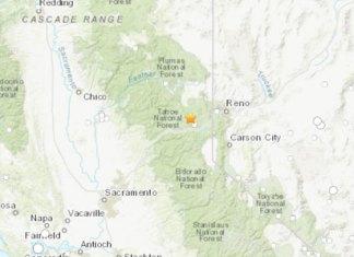 Temblor sacude frontera entre California y Nevada