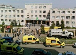Un exalumno mató a siete niños y una maestra durante un tiroteo en la escuela 175 de Kazán, Rusia; además hay 21 heridos, seis de ellos graves.