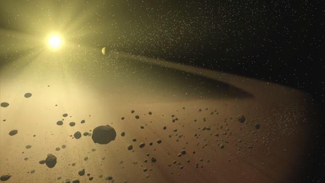 ¿Podria algo así estar ocurriendo en KIC 8462852? Vía NASA/JPL.
