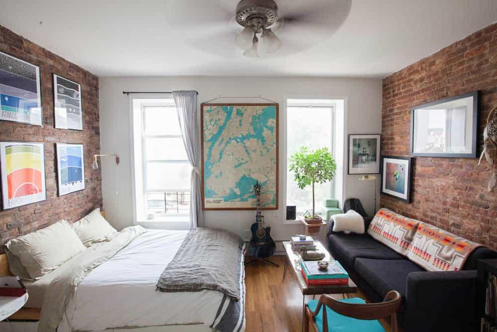 Apartment Decorating Ideas: A Brooklyn Bedroom