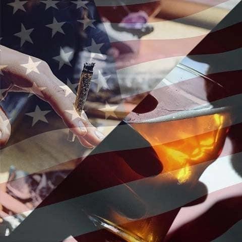 Stati Uniti, Cannabis riduce il consumo di Alcol