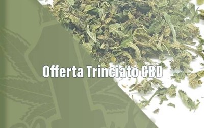 Offerta Trinciato CBD