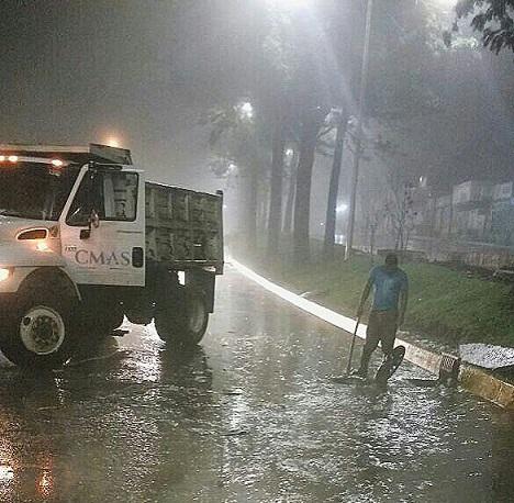 Afectaciones por lluvias.