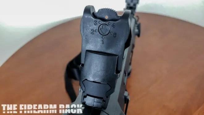 A Beretta Rifle Sight