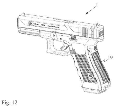 Glock 17T Patent Drawing