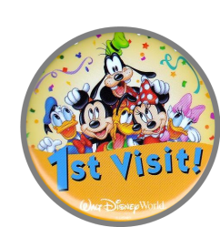 Pin de primera visita a Disney