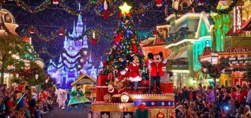 Mickeys Christmas menos gente