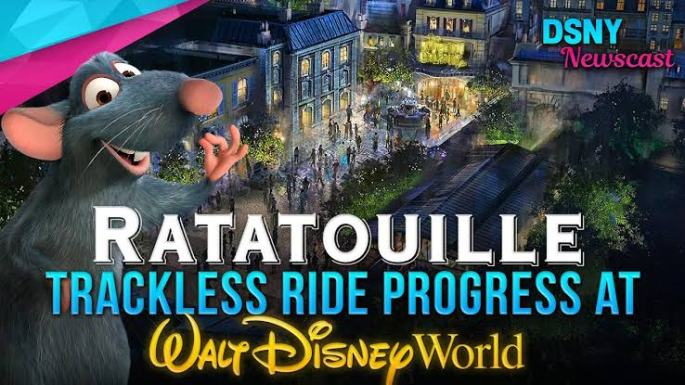 Remy Ratatouille viajar a disney 2020