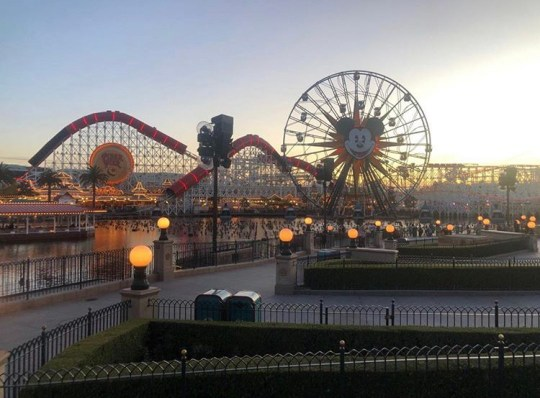 Disneyland Incredicoaster