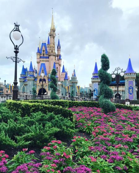 castillo cenicienta magic kingdom covid