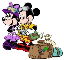 empacar viaje disney universal mickey