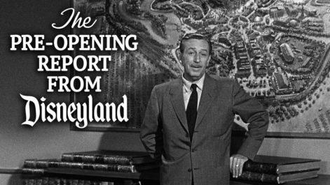 pre-opening report disneyland
