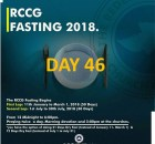 (RCCG) fasting 2018 prayer points for day 46