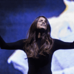 WATCH VIDEO Selena Gomez Leads Worship At Hillsong
