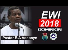 Convention 2018 EWI RENDITION SONG By Pastor E.A Adeboye (Jesu Gba Mi La}