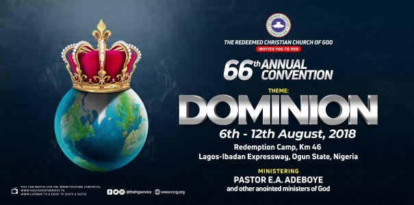 RCCG AUGUST 2018 CONVENTION Live broadcast video