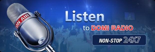 How to Listen To DOMI RADIO LIVE 24/7 OF Living Faith Church Worldwide