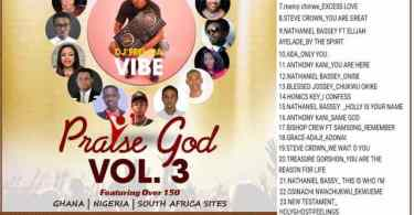 DJ Feel Da Vibe – Praise God Vol. 3 [Gospel Mixtape]