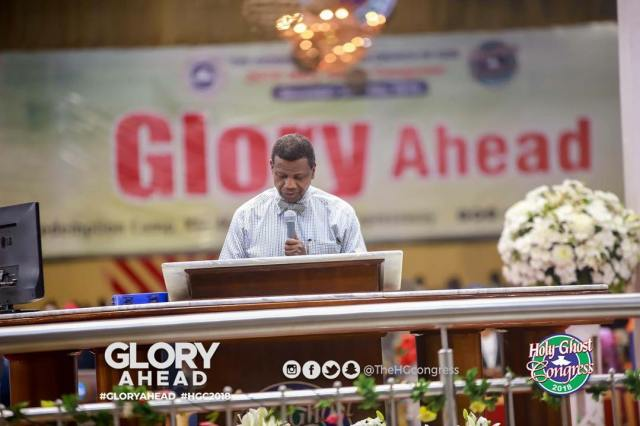 Prayer points from RCCG Holy Ghost Congress 2018 (Day 2) – #gloryahead