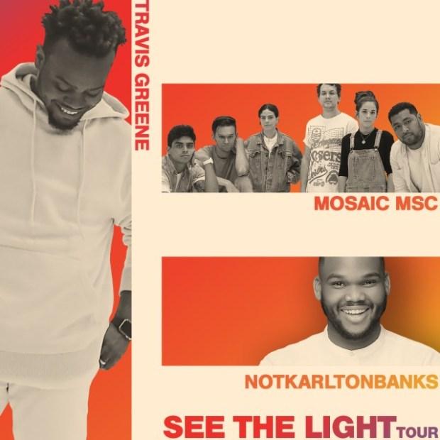 Travis Greene, Mosiac MSC To Storm See The Light tour Concert