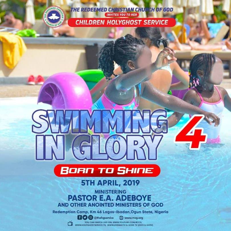 Waych LIVE Video RCCG April 2019 Children Special Holy Ghost Service