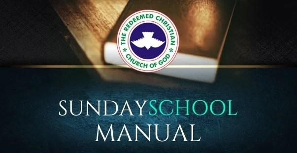 RCCG Sunday School TEACHER's Manual 21 April 2019 – Only One God