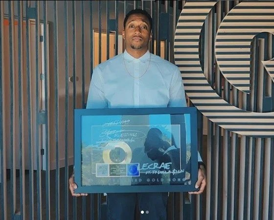"Lecrae Song ""Blessings"" wins RIAA Awards Certified Gold plaque"