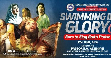 Watch LIVE VIDEO Of RCCG June 2019 Holy Ghost Service