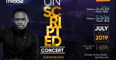 "THOBBIE set to Light Up New Jersey This Weekend with ""UNSCRIPTED"" Concert 2019 // July 6"