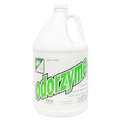 Odorzyme Enzyme Cleans Pet Odor Soils Chemcor 1-Gallon