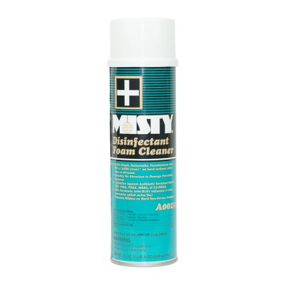 Aerosol Disinfectant Foam Hospital Cleaner Deodorizer Misty 19-oz