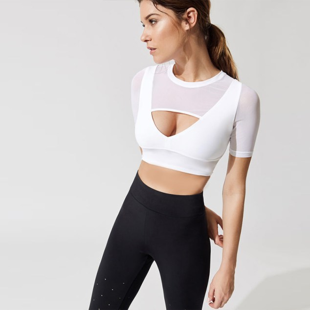 fitness top womens